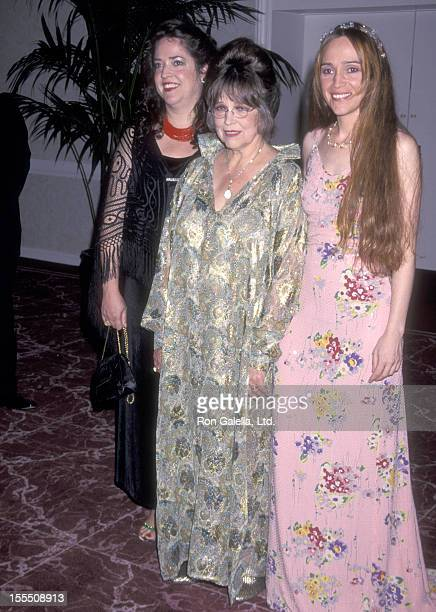 Christiane Kubrick and daughters Anya Kubrick and Vivian Kubrick the Ninth Annual BAFTA/LA Britannia Awards on September 14 1999 at Beverly Hilton...