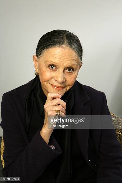 Christiane Minazzoli on the set of TV show Ce Jour La