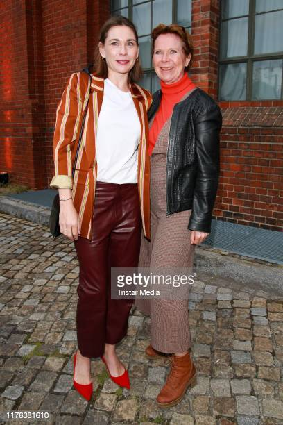 "Christiane Paul and Marion Kracht attend the 25 Year ""X Filme"" anniversary party at Radialsystem V on September 20, 2019 in Berlin, Germany."