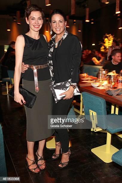 Christiane Paul and Minu BaratiFischer attend the LaLa Berlin Dinner with Cinderella during the MercedesBenz Fashion Week Berlin Autumn/Winter...