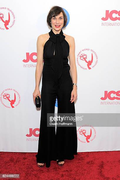 Christiane Paul attends International Emmys Festival Opening Party Hosted By JCS International at United Nations on November 18 2016 in New York City