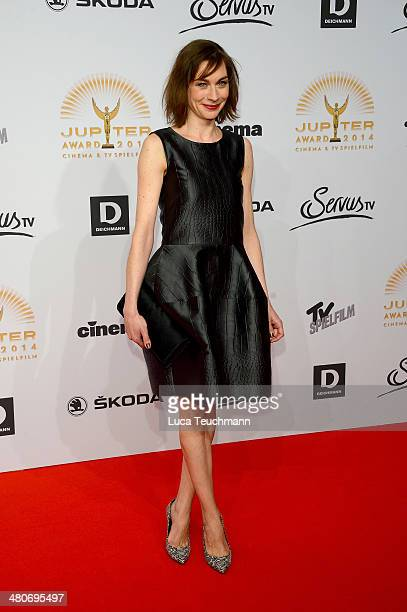 Christiane Paul attends 'Jupiter Award 2014' at Cafe Moskau on March 26 2014 in Berlin Germany
