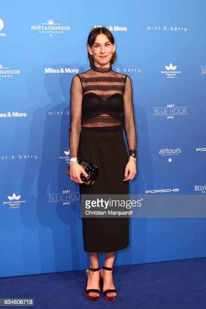 Christiane Paul attends the Blue Hour Reception hosted by ARD during the 67th Berlinale International Film Festival Berlin on February 10 2017 in...