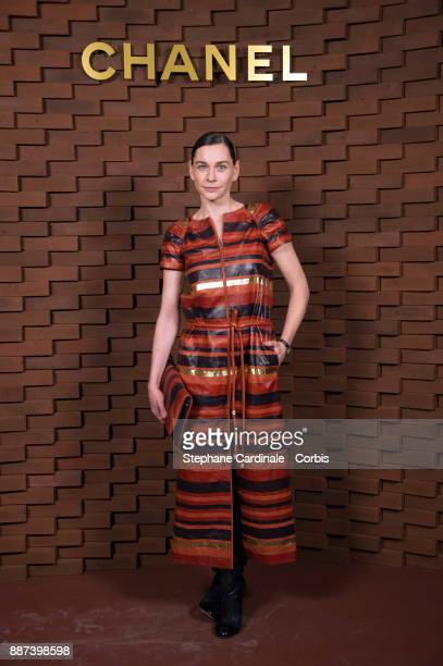 Christiane Paul attends the Chanel Collection Metiers d'Art Paris Hamburg 2017/18 at The Elbphilharmonie on December 6 2017 in Hamburg Germany