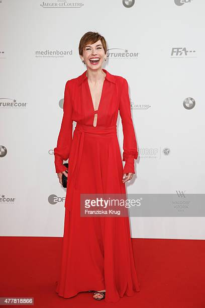 Christiane Paul attends the German Film Award 2015 Lola at Messe Berlin on June 19 2015 in Berlin Germany