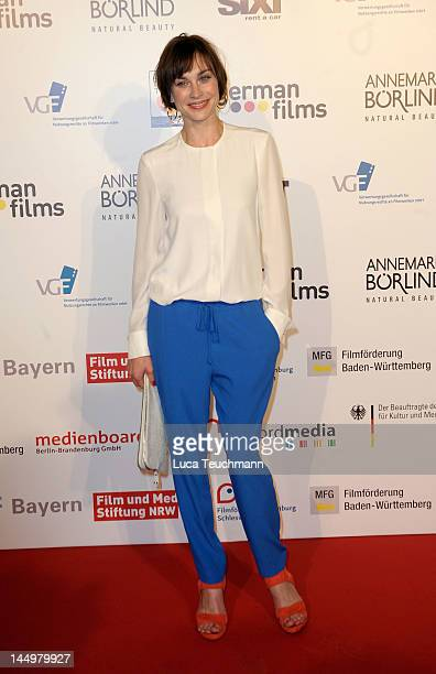 Christiane Paul attends the German Reception during the 65th Annual Cannes Film Festival on May 21 2012 in Cannes France