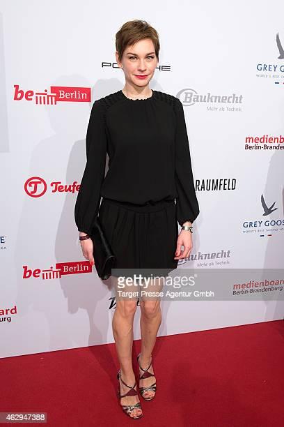 Christiane Paul attends the Medienboard BerlinBrandenburg Reception at Ritz Carlton on February 7 2015 in Berlin Germany