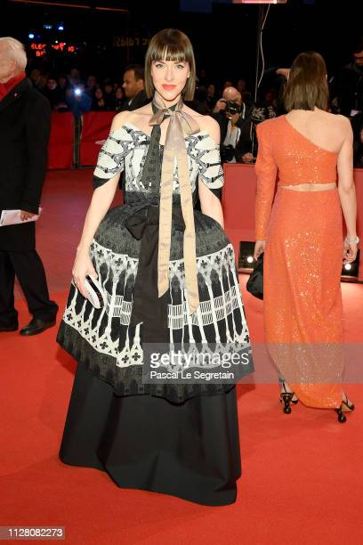 Christiane Paul attends the opening ceremony and 'The Kindness Of Strangers' premiere during the 69th Berlinale International Film Festival Berlin at...