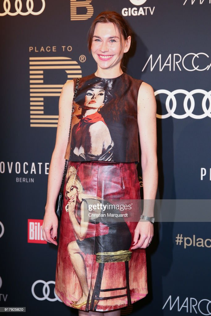 Christiane Paul attends the PLACE TO B Pre-Berlinale-Dinner at Provocateur on February 13, 2018 in Berlin, Germany.