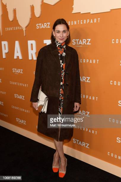 Christiane Paul attends the premiere of Starz's Counterpart Season 2 at ArcLight Cinemas on December 3 2018 in Culver City California