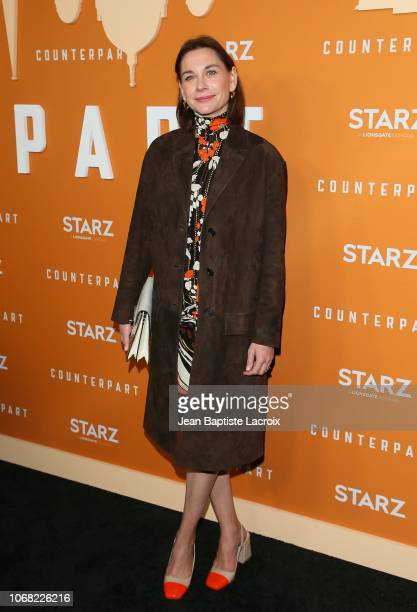Christiane Paul attends the premiere of Starz's 'Counterpart' Season 2 at ArcLight Cinemas on December 3 2018 in Los Angeles California