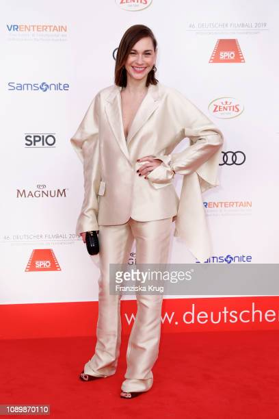 Christiane Paul during the 46th German Film Ball at Hotel Bayerischer Hof on January 26 2019 in Munich Germany