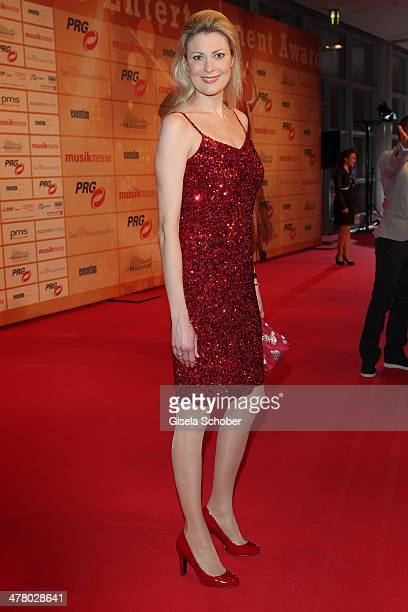 Christiane Ringer attends the LEA Live Entertainment Award 2014 at Festhalle Frankfurt on March 11 2014 in Frankfurt am Main Germany
