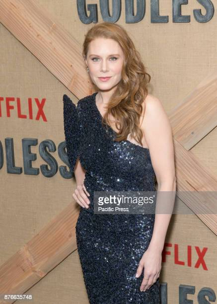 Christiane Seidel attends Netflix Godless premiere at Metrograph