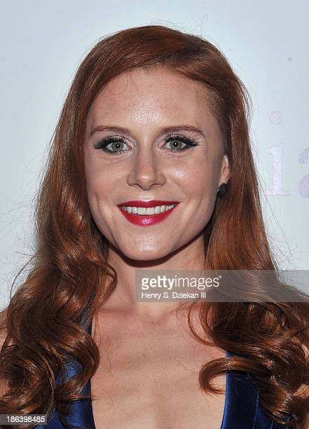Christiane Seidel attends The Cinema Society with Linda Wells Allure Magazine premiere of Entertainment One's 'Diana' at SVA Theater on October 30...