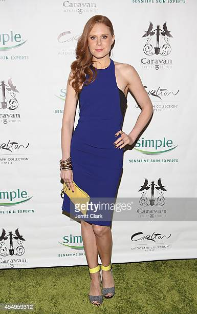 Christiane Seidel attends the Simple Skincare Caravan Stylist Studio Fashion Week Event on September 7 2014 in New York City
