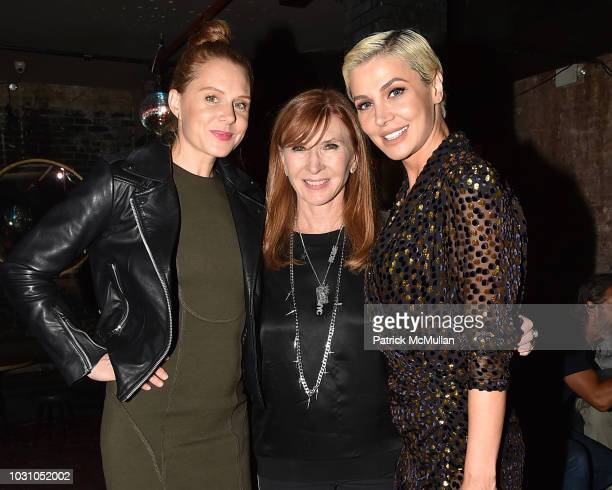 Christiane Seidel Nicole Miller and Zara Alexandrova attend the Nicole Miller Spring 2019 After Party at Acme on September 6 2018 in New York City
