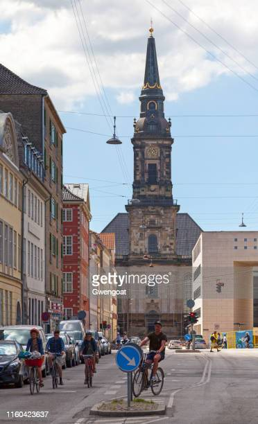 christian's church in copenhagen - gwengoat stock pictures, royalty-free photos & images
