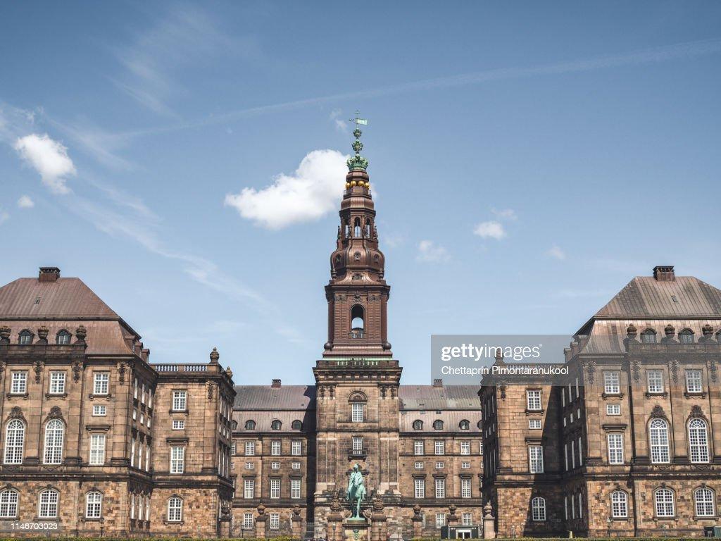 Christiansborg Palace : Stock Photo