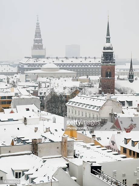 Christiansborg Palace viewed from Round Tower