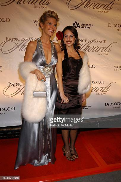 Christie Brinkley and Alexa Ray Joel attend The 2006 Princess Grace Awards Gala at Cipriani 42nd Street on November 2 2006 in New York City
