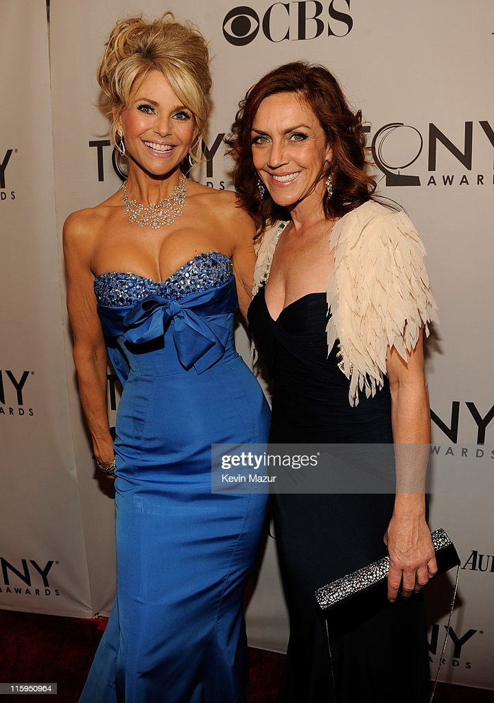 Christie Brinkley and Andrea McArdle attend the 65th Annual Tony Awards at the Beacon Theatre on June 12, 2011 in New York City.