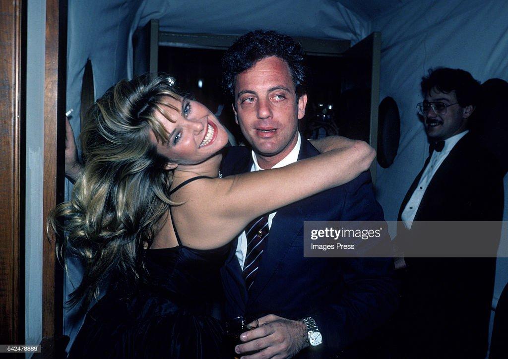 Christie Brinkley and Billy Joel... : News Photo