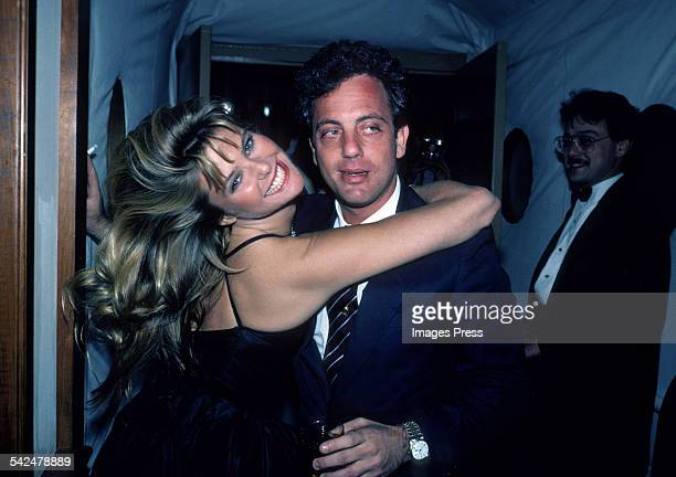Christie Brinkley and Billy Joel circa 1983 in New York City.