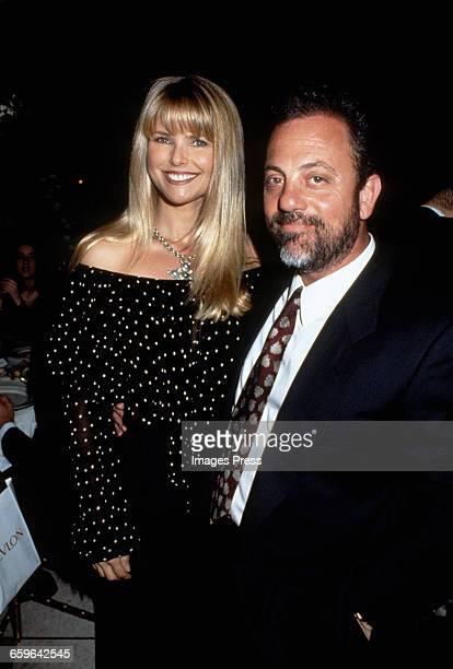 Christie Brinkley and Billy Joel circa 1993 in New York City