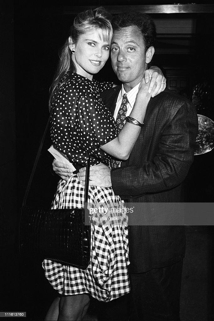 Christie Brinkley and Billy Joel Sighting - July 4, 1987 : News Photo