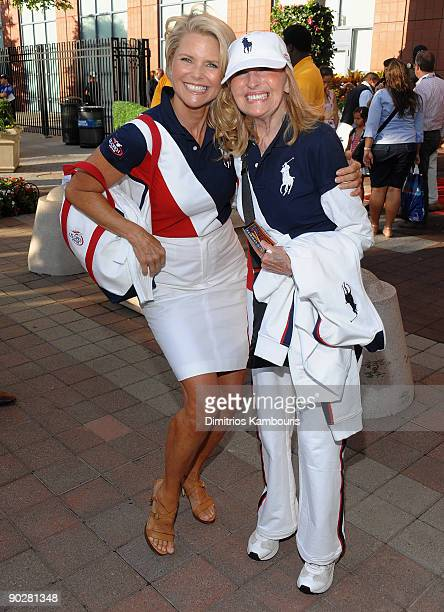 Christie Brinkley and Marge Brinkley attend the 9th Annual USTA Serves OPENing Gala at the USTA Billie Jean King National Tennis Center on August 31...