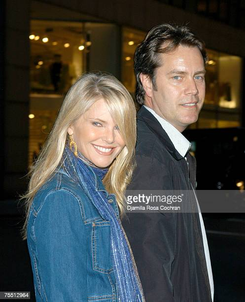 Christie Brinkley and Peter Cook at the Uptown in New York City New York