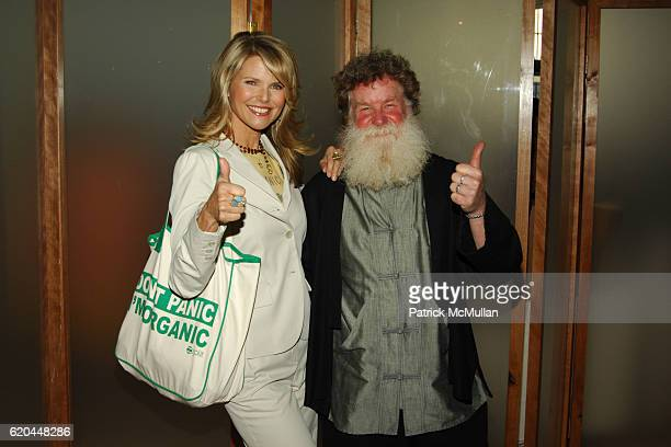 Christie Brinkley and Scott Chaskey attend NORTHEAST ORGANIC FARMING ASSOCIATION Inaugural Luncheon and Panel Discussion at Guastavino's on April 14...