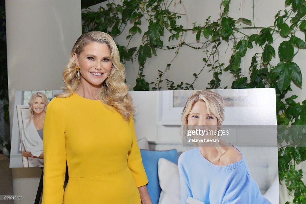 Christie Brinkley Celebrates Her Partnership With Merz Aesthetics : News Photo
