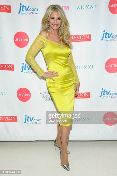 Christie Brinkley attends Lifetime's American Beauty Star Season 2 Live Finale at Manhattan Center on March 27 2019 in New York City