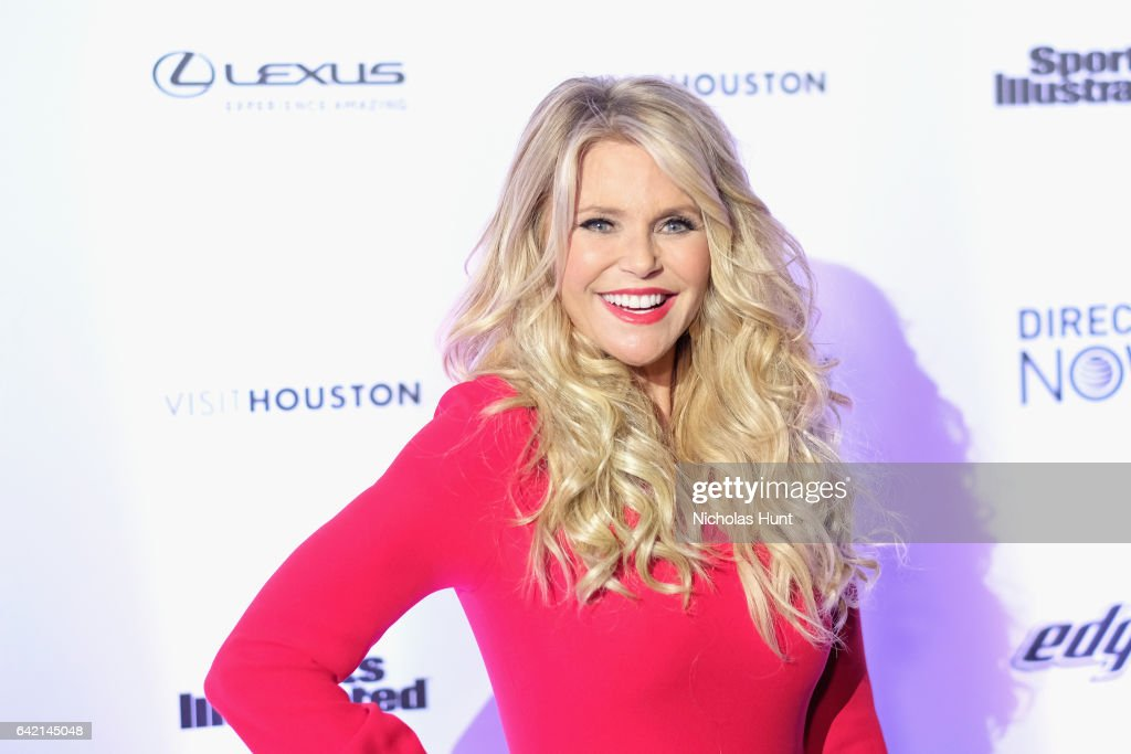Christie Brinkley attends Sports Illustrated Swimsuit 2017 NYC launch event at Center415 Event Space on February 16, 2017 in New York City.