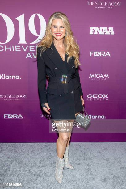 Christie Brinkley attends the 2019 FN Achievement Awards at IAC Building on December 03, 2019 in New York City.
