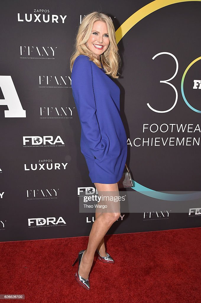 Christy Brinkley attends the 30th FN Achievement Awards at IAC Headquarters on November 29, 2016 in New York City.
