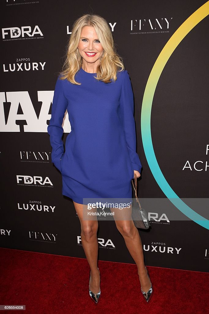 Christie Brinkley attends the 30th FN Achievement Awards at IAC Headquarters on November 29, 2016 in New York City.