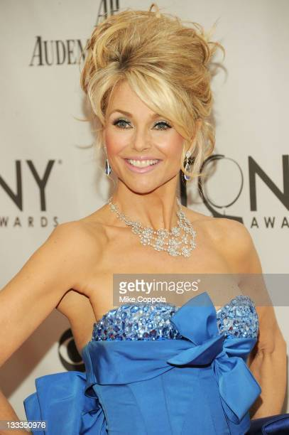 Christie Brinkley attends the 65th Annual Tony Awards at the Beacon Theatre on June 12 2011 in New York City