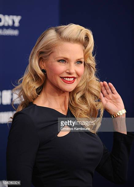 Christie Brinkley attends the premiere of The Ides of March at the Ziegfeld Theater on October 5 2011 in New York City