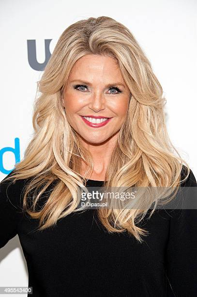 Christie Brinkley attends the premiere of USA Network's Donny at The Rainbow Room on November 3 2015 in New York City