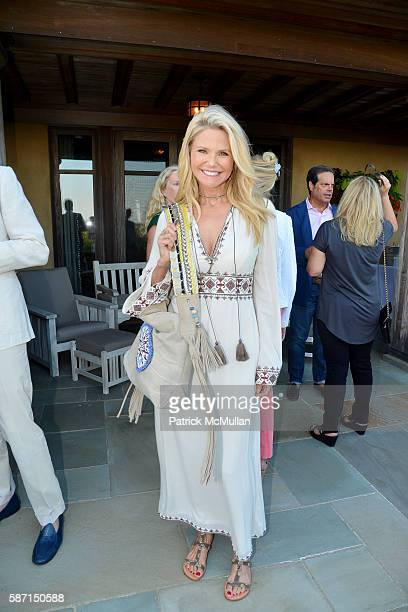 Christie Brinkley attends Tom Diane Tuft and Christina Cuomo Celebrate the Launch of Jay McInerney's New Novel Bright Precious Days at Private...