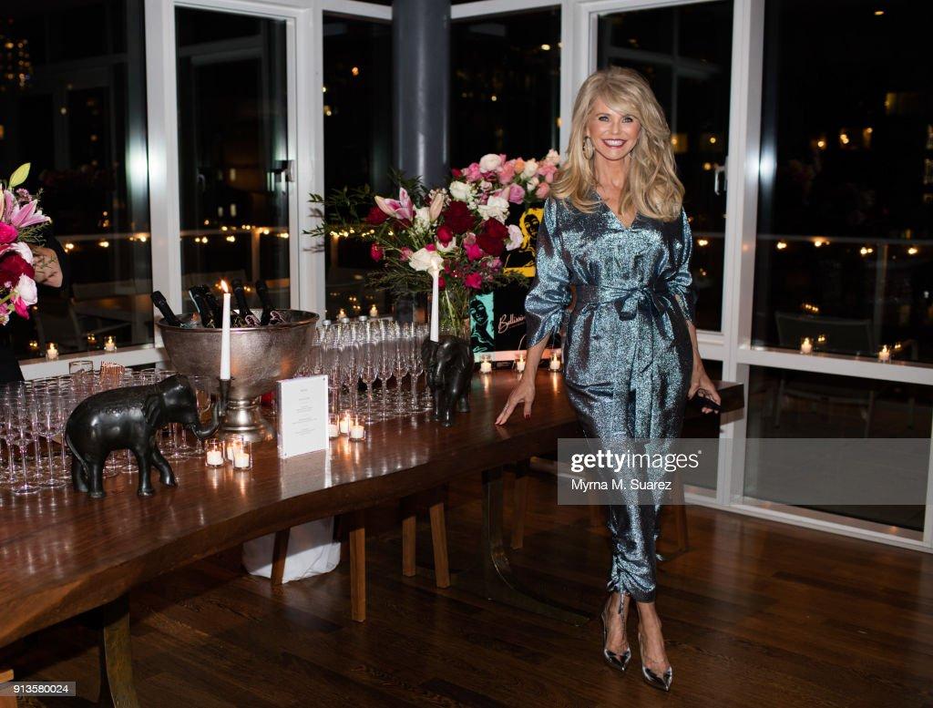 Christie Brinkley Birthday Celebration : News Photo