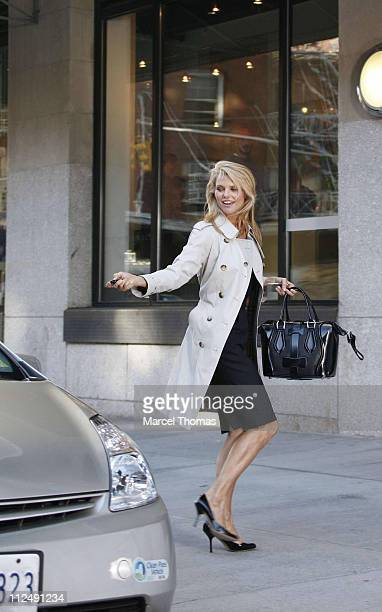 43 Christie Brinkley Sighting On The Set Of Her New Covergirl