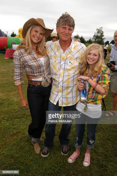 Christie Brinkley Gregory Brinkley and Elliott Brinkley attend Einstein Medical College's 20th Annual WILD WILD WEST CARNIVAL presented by Marquis...