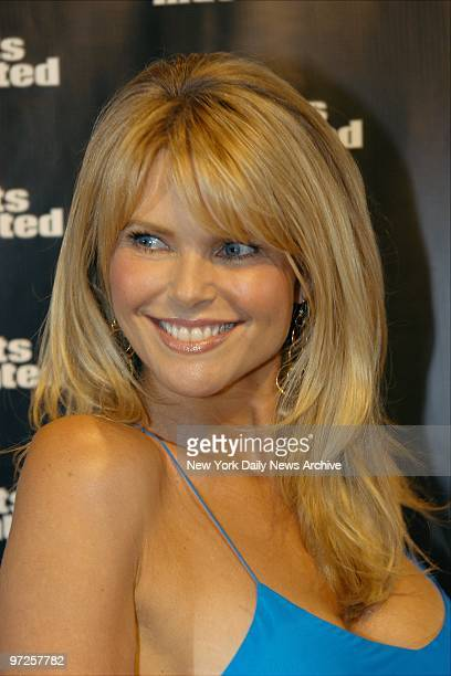 Christie Brinkley is present for the unveiling of Sports Illustrated's 2004 swimsuit issue and its 40th anniversary celebration at Depp on W 22nd St...