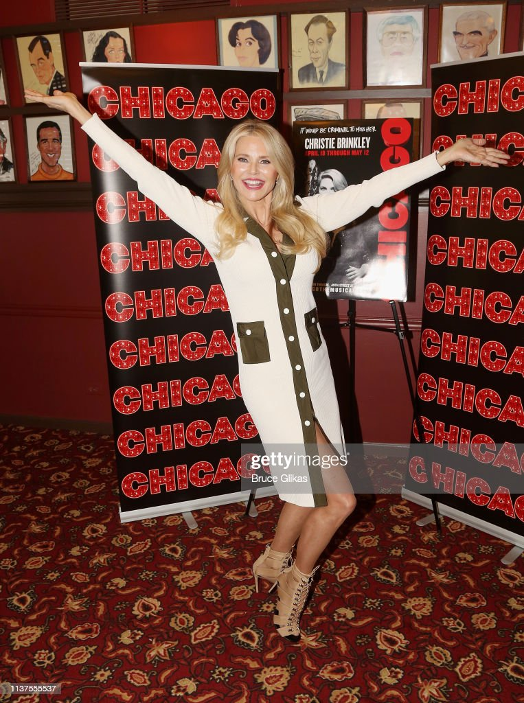 "NY: Christie Brinkley Returns To ""Chicago"" On Broadway"