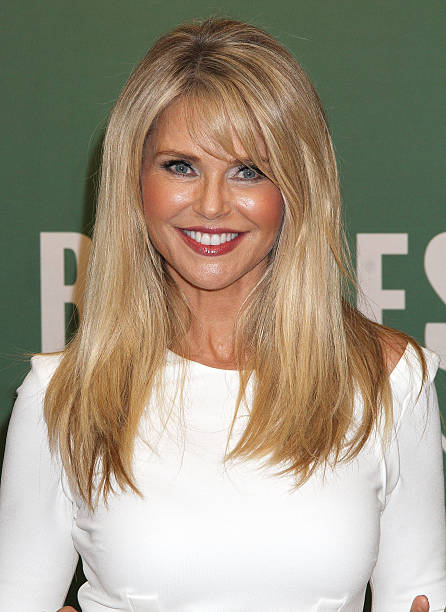 """Christie Brinkley Signs Copies Of """"Timeless Beauty: Over ..."""