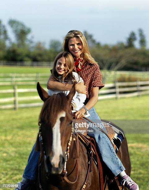 Christie Brinkley with daughter Alexa Ray Christie Brinkley by George Holz Christie Brinkley InStyle July 1 1996 East Hampton New York